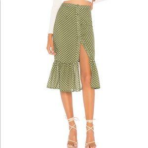 Molina skirt in Mint Green